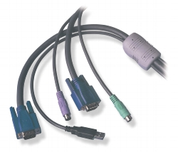 USB Konverter Kabel USB - PS2 10m
