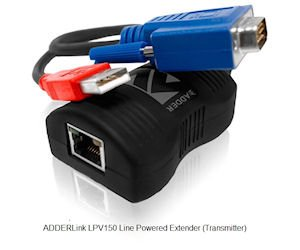 AdderLink LPV150T Line Powered VGA über