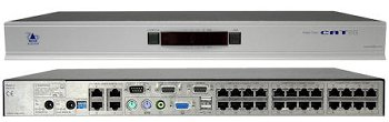 ADDERView KVM Switch 4 User, 24 Rechner