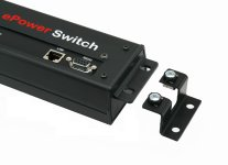Wandmontage Set für ePowerSwitch-4