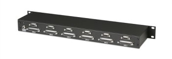 6-Port KVM Extender Local Unit Rack
