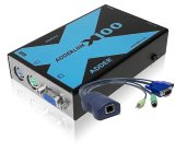 AdderLink X100A - PS/2 KVM Extender Set
