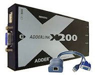 AdderLink X200 - USB KVM Extender Set